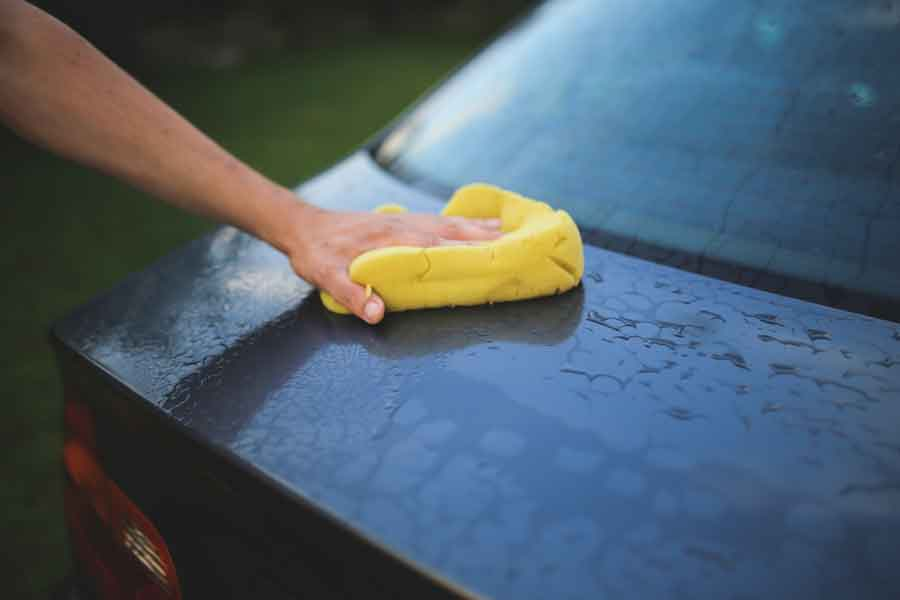 how to polish a car