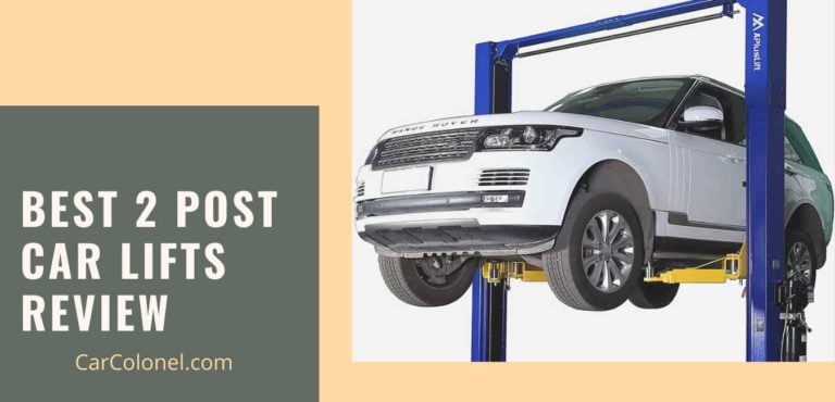 best 2 post car lifts