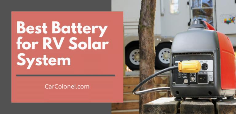 best battery for rv solar
