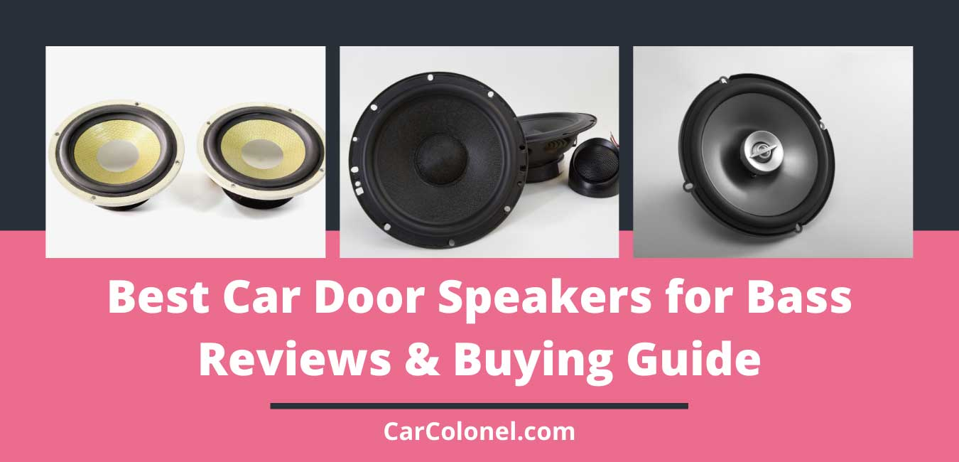 best door speakers for bass