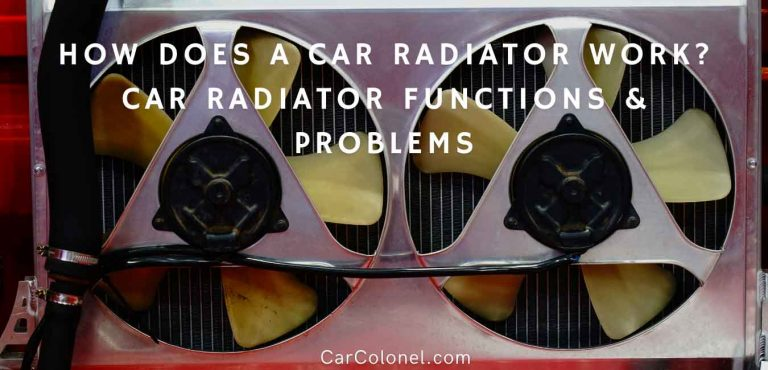how does a car radiator work