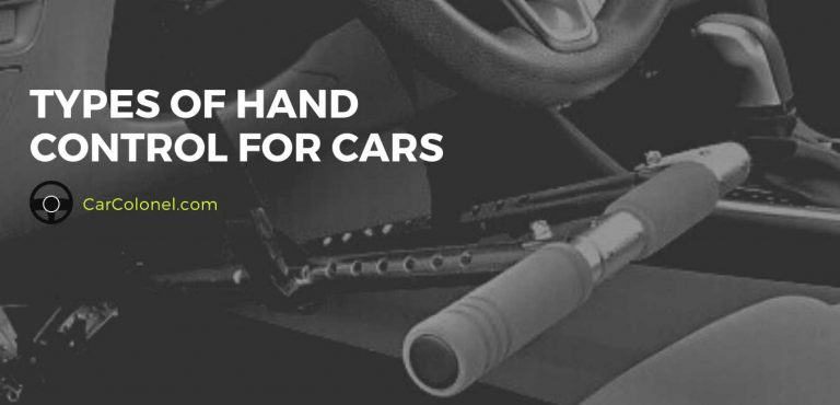 types of hand control for cars