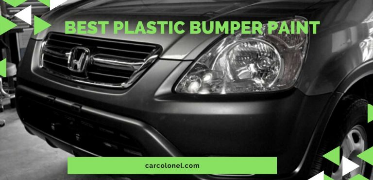 Best Plastic Bumper Paint