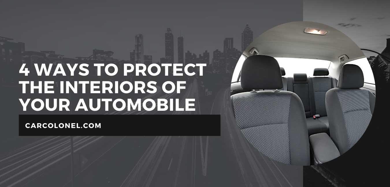 4 ways to protect car interior
